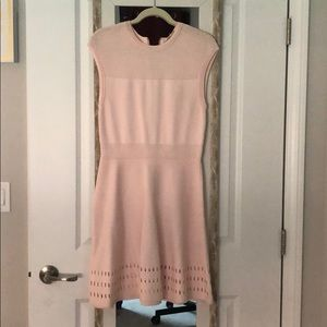Pink Ted Baker sweater feel dress NWT size 3